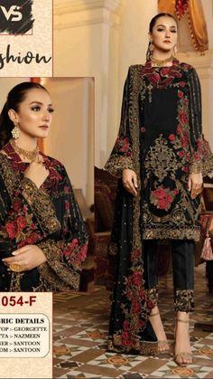 Pakistani Dresses, Indian Dresses, Indian Embroidery, Occasion Dresses, Indian Fashion, Party Dress, Fashion Dresses, Product Launch, Sari