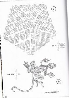 renda de bilros / bobbin lace esquemas / patterns Bobbin Lacemaking, Bobbin Lace Patterns, Hairpin Lace, Lace Making, Simple Art, Crochet, Lana, Tatting, Diy And Crafts