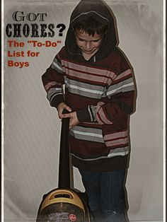 Chores for Boys, To-Do List for Boys, MOB Society, Jenny Lee Sulpizio   The MOB Society