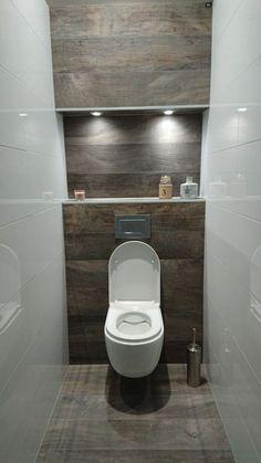 Dreamy wc toilet in bathroom ideas for you waaaw 45 Half Bathroom Decor, Small Bathroom Storage, Guest Bathrooms, Attic Bathroom, Bathroom Toilets, Simple Bathroom, Bathroom Furniture, Modern Bathroom, Bathroom Ideas