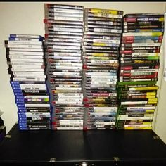 It's crazy 3 years ago I started my game collection it's crazy to see how much it has grown. I've met a lot of amazing ppl and been to events and places I never would have thought existed till I stepped into the world of professional game collecting lol. (It's alot more I just didn't have the pics in my phone)  #videogame #videogames #gaming #game #gamer #ps4 #games #playstation #xbox #nintendo #anime #gamers #xboxone #gamerguy #love #retro #collection #nerd #geek #gaminglife #instagamer…