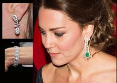 Jewels worn by Kate, Duchess of Cambridge