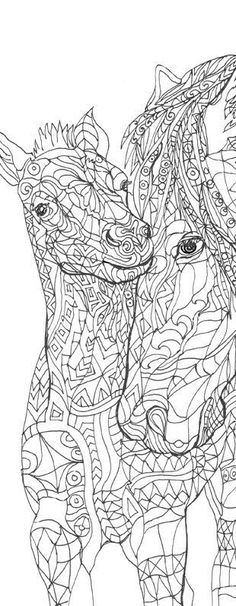 Coloring pages Printable Adult Coloring book Horse Clip Art Hand Drawn Original Zentangle Colouring Page For Download, Doodle art Picture Original drawings by Valentina Ra. Printable Adult Colouring Page, hand drawn This download contains 1 PDF + 1 JPG file compatible to print at US Letter (8.5 x 11 Inches)or A4 standard print size . ★ HAND DRAWN DESIGNS - All of our designs are painstakingly drawn by hand. Nothing is computer generated, so the finished product looks like something you…