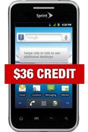 LG Optimus Elite - Black mybusinessonline store www.JBLeighbody.com