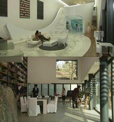 Secret Garden Kdrama, Big Mansions, Hyun Bin, Filming Locations, Interior Architecture, Modern, Furniture, Snsd, Korean Drama