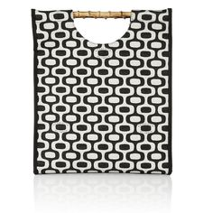 Charlotte Olympia Ipanema printed canvas shopper ($795) ❤ liked on Polyvore