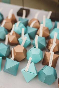 geometric table wedding card ideas escort