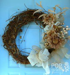 New (DIY) Fall Wreath