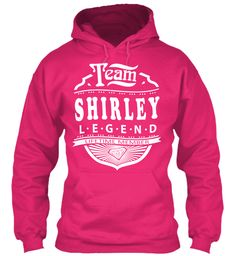 Team Shirley Lifetime Member Heliconia Sweatshirt Front