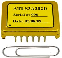 ATLS3A202D laser driver has slightly different pin out as that of ATLS3A202D laser driver. It has a synchronization function pin which allows using an external digital signal to synchronize the internal switching frequency of the PWM output stage. This function is useful when using the laser driver with a switching power supply that has similar switching frequency or using multiple such laser drivers, to eliminate the beating frequency interference. It is designed for driving laser diodes…