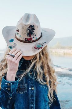 "c1bf744c07a Wild Bohemian West In Double D Ranch ""Mi Terra"" Pre-Fall Collection 2017.  American Hat Makers"