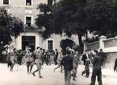 July 1936 - Spain - Madrid - Associated Press of Great Britain Ltd. Spain History, European History, San Diego Library, Spanish War, Foto Madrid, Lest We Forget, African American History, Great Britain, World War Ii