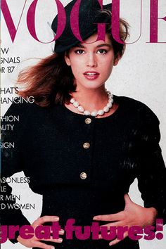 Patrick Demarchelier  Cindy Crawford 1987