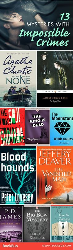 Looking for your next mystery read? Check out these gripping books with impossible crimes, including Agatha Christie's And Then There Were None.
