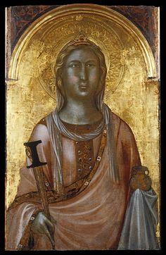 Niccolò di Segna - Saint Lucy - Walters 37756.jpg