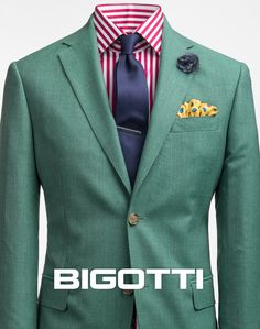 #Mint #green #blazer – #tonic and #unconventional #New #collection is #available in #Bigotti #men #clothing #stores and on www.bigotti.ro