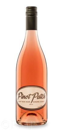 Rudy Meyers Photography, Wine Bottle Studio Shot - 2013 Pinot Noir Rosé Sonoma County, Pinot Patch www.rudymeyers.com