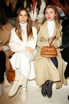 Miroslava Duma - Ralph Lauren Spring 2017 Fashion Show Front Row - September 14, 2016 #nyfw
