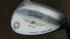 New Titleist Vokey Spin Milled Tour Chrome 64 07 SW Wedge Golf Club RH 084984328862 | eBay