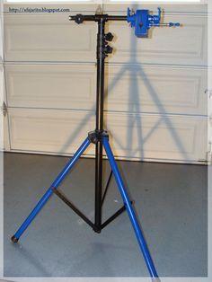 Very sturdy, 40 dollar bike repair stand.