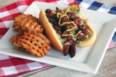The Cuban Dog {Kicked up Hotdog... Can't wait for summer grilling!}