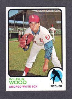 1973 Topps Wilbur Wood