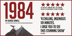 Early Bird Offer for 1984: Back in London for 12 Weeks Only! https://www.londontheatredirect.com/play/1484/1984-tickets.aspx?utm_content=buffere1d5b&utm_medium=social&utm_source=pinterest.com&utm_campaign=buffer ★★★★★ Tickets from £19.84