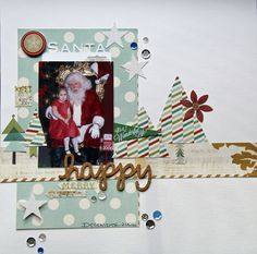 Using the current sketch from Stuck On U Sketches & Pink Paislee's Snow Village collection.  #scrapbooking    #stuckonusketches    #pinkpaislee