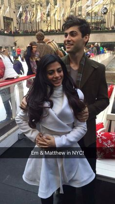 - The Shadowhunters Cast at ABC Family's Winter Wonderland Event Emeraude and Matthew Isabelle Lightwood, Jace Lightwood, Shadowhunters Tv Series, Shadowhunters The Mortal Instruments, Youtubers, Looks Teen, Cassandra Clare Books, Bae, Matthew Daddario