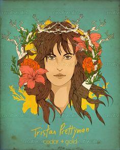 Tristan Prettyman Poster by nat on CreativeAllies.com