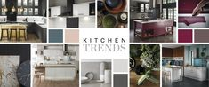 Explore the latest kitchen ideas of 2018 and discover how to bring them to life in your own home with our 2018 Kitchen Trend Guide. Kitchen Design Trends 2018, Latest Kitchen Trends, Free Kitchen Design, Stylish Kitchen, New Kitchen, Kitchen Ideas, Howdens Kitchens, Wooden Shelves, Traditional Kitchens