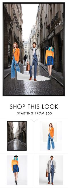 """""""Untitled #63"""" by dressmania3 ❤ liked on Polyvore featuring Pottery Barn, Oscar de la Renta, The Ragged Priest and Brooks Brothers"""