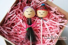 Mr and Mrs Hmong Cake Pop Dolls