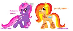 My Little Pony Friendship is Magic Ponies by DesuPanda98.deviantart.com on @deviantART