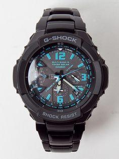 Casio G-SHOCK Solar Atomic Aviation GW-3000BD Watch