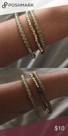 3 set bangle bracelets Day to night bracelets Jewelry Bracelets