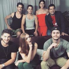 Teen Wolf cast at #SDCC
