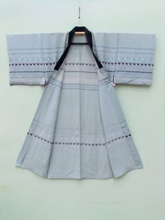 ☆ New Arrival ☆ 'Jungle Book' #mens #silvery light #blue #vintage #silk #Japanese#kimono with #animal & #ethnic #pattern from #FujiKimono http://www.fujikimono.co.uk/fabric-japanese/jungle-book.html #textile #costume #fashion #cosplay