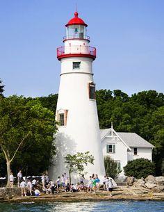 Marblehead Lighthouse, Sandusky Bay, Ohio