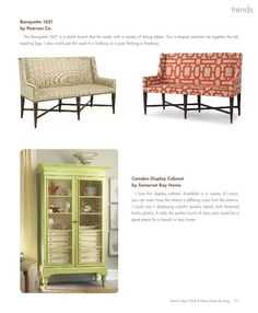 Donna's Blog: High Point Market Trends, Texas Home & Living April 2014 Donna Vining