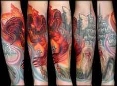 25 Awesome Lord of the Rings Tattoos
