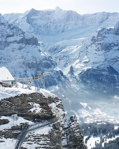 This atmospheric image captures Switzerland's spirit of adventure in a majestic mountain setting....