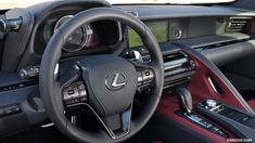 2018 Lexus LC 500 and LC 500h Hybrid Wallpaper