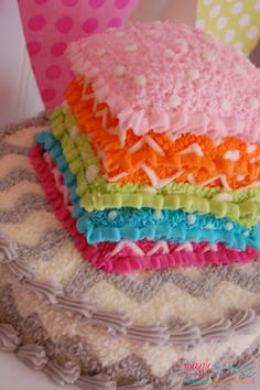 Awesome cake at a Pajama girl Birthday Party! See more party ideas at CatchMyParty.com!