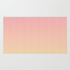 Gradient pink Area & Throw Rug by Julia Brnv - $28.00