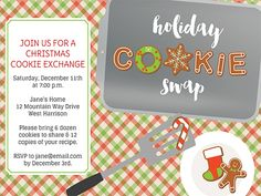 Customize your invite with Christmas party invitation templates.