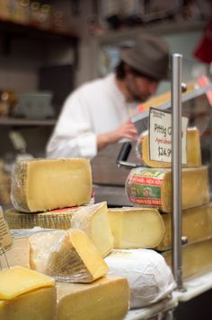 Cheese Shop in Italian Market