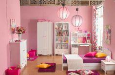 Desain Kamar Tidur Minimalis Berwarna Pink Menarik