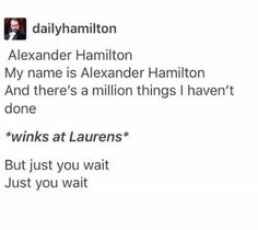 Alexander Hamilton and Laurens