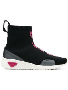 $221.0. DIESEL Shoes Sneaker Sock Boots #diesel # #shoes Diesel Shoes, High Top Sneakers, Shoes Sneakers, Diesel Fashion, Diesel Denim, Black Bomber Jacket, Cropped Skinny Jeans, Print Logo, Sneakers Fashion